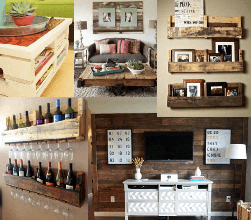 Up-cycling Old Pallets
