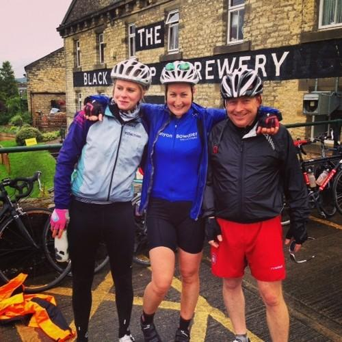 Helen's Soggy Cycle Through Yorkshire