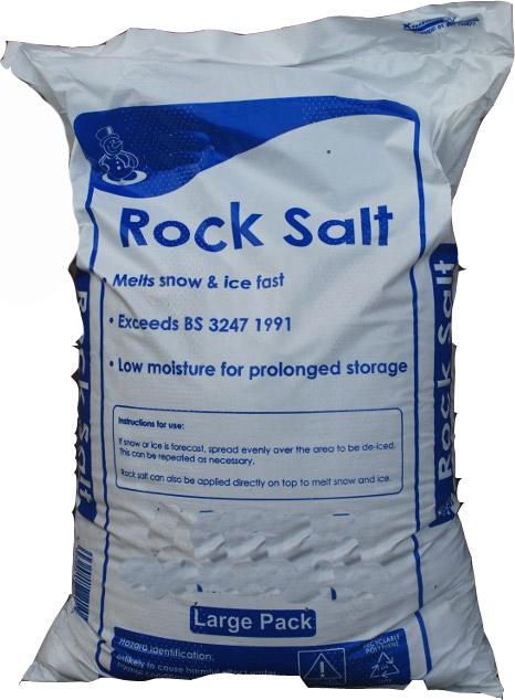 Rock Salt Suppliers - Bulk & Bagged Rock Salt | Quality Garden